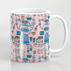 Pattern Project #17 / Bird Life Mug