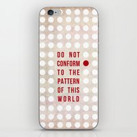 Don't Conform iPhone & iPod Skin