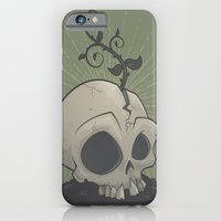iPhone & iPod Case featuring Skull Garden by John Schwegel