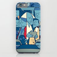 back to the future iPhone & iPod Cases featuring Back to the Future by Ale Giorgini