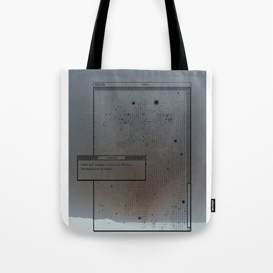 Pixel Screencapture - Are They Pixels Or Stars? Tote Bag