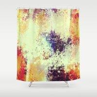 Slow Burn Shower Curtain