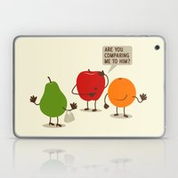 Like Apples and Oranges Laptop & iPad Skin