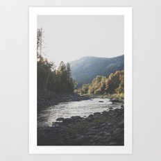 Kettle River III Art Print