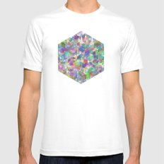 Panelscape - #1 society6 custom generation White SMALL Mens Fitted Tee