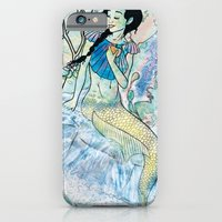 iPhone & iPod Case featuring Pale Siren by Armani jane