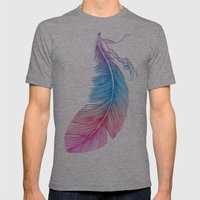 Colors Of A Feather Mens Fitted Tee Athletic Grey SMALL