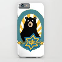iPhone & iPod Case featuring Strength of the bear! by Emma Harckham
