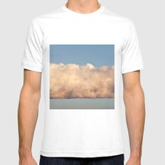 Cloud White SMALL Mens Fitted Tee