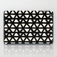 iPad Case featuring Brush Stroke Triangles G… by Crystal ★ Walen