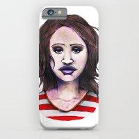 Graphite Girl iPhone 6 Slim Case