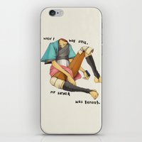 When I Was Little, My Fa… iPhone & iPod Skin
