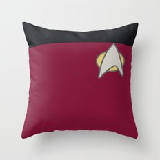 Star Trek: The Next Generation Throw Pillow