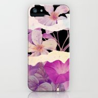 Floral On Torn Paper iPhone (5, 5s) Slim Case