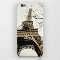 Le Tour Eiffel iPhone & iPod Skin