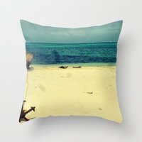 Break The Roots Throw Pillow