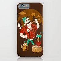 Green Thumberjack iPhone 6 Slim Case