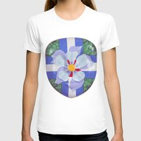 Icons Womens Fitted Tee White SMALL
