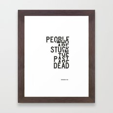 Dead Framed Art Print