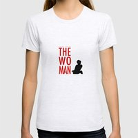 Irene Adler, The Woman - Sherlock Holmes Womens Fitted Tee Ash Grey SMALL