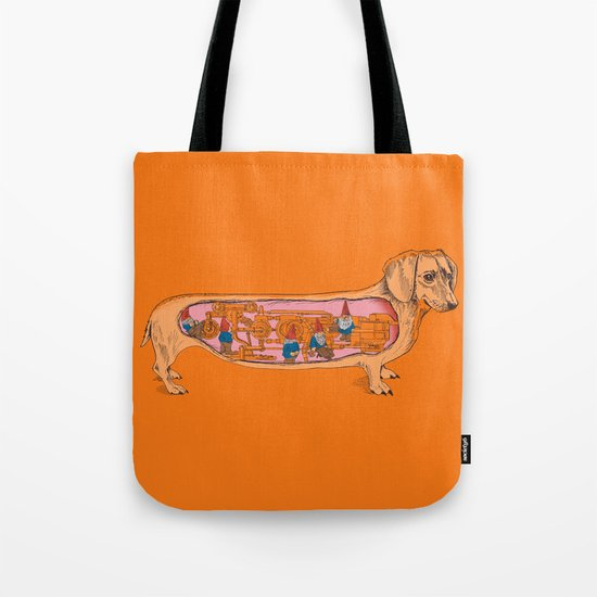 Secrets of the Dachshund  Tote Bag