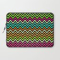 Chevron Mix #6 Laptop Sleeve