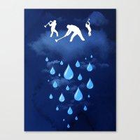 Right as Rain Canvas Print