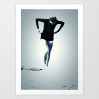 Woman Emerging Art Print