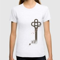 Chopin Womens Fitted Tee Ash Grey SMALL