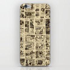 Movie Cards iPhone & iPod Skin