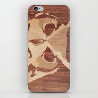 Owl Marquetry iPhone & iPod Skin