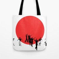 Dancing For Japan Tote Bag