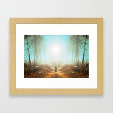 Finding Framed Art Print