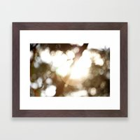 flare Framed Art Print