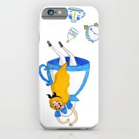 alice in wonderland iPhone & iPod Cases featuring Wonderland by Bethany Grace