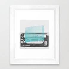 Side B Framed Art Print