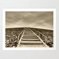 Art Print featuring Stairway To Hell by Dantastic Photos