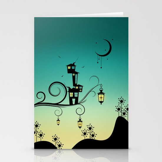 Good Night Little One. Stationery Card