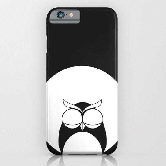 Sleepy owl iPhone & iPod Case