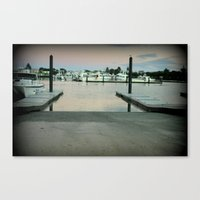 Early Morning At Robe, S… Canvas Print