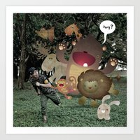 Zoophobia Art Print