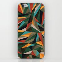 Sliced Fragments II iPhone & iPod Skin