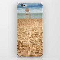 Sand Line iPhone & iPod Skin