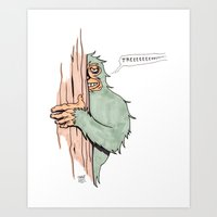 Bigfoote Art Print