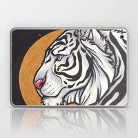 White Tiger Laptop & iPad Skin