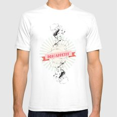 Bon Appetite SMALL White Mens Fitted Tee