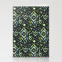 Tribal Gem Stationery Cards