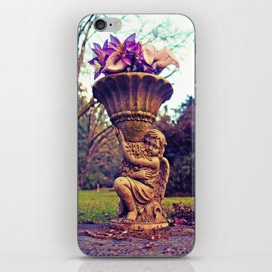 Graveyard statue iPhone & iPod Skin