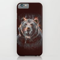 iPhone & iPod Case featuring DARK BEAR by Ptitecao