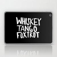 Whiskey Tango Foxtrot x WTF Laptop & iPad Skin